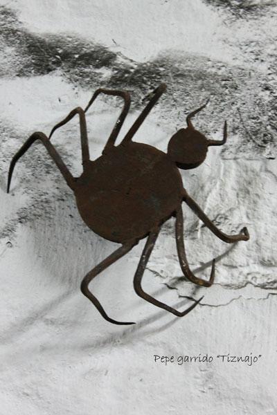 Araña de hierro forjado - Forja Tiznajo